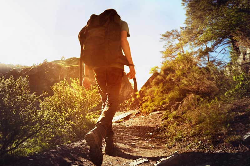Physical fitness for hiking