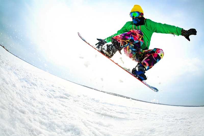 Snowboarding resorts