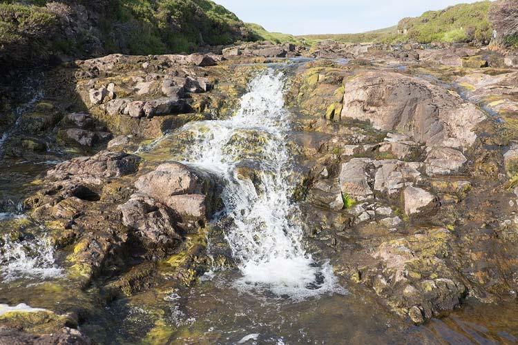 River Rha waterfall